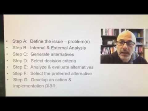 OTL201 – Post 4 – Process of Case Analysis
