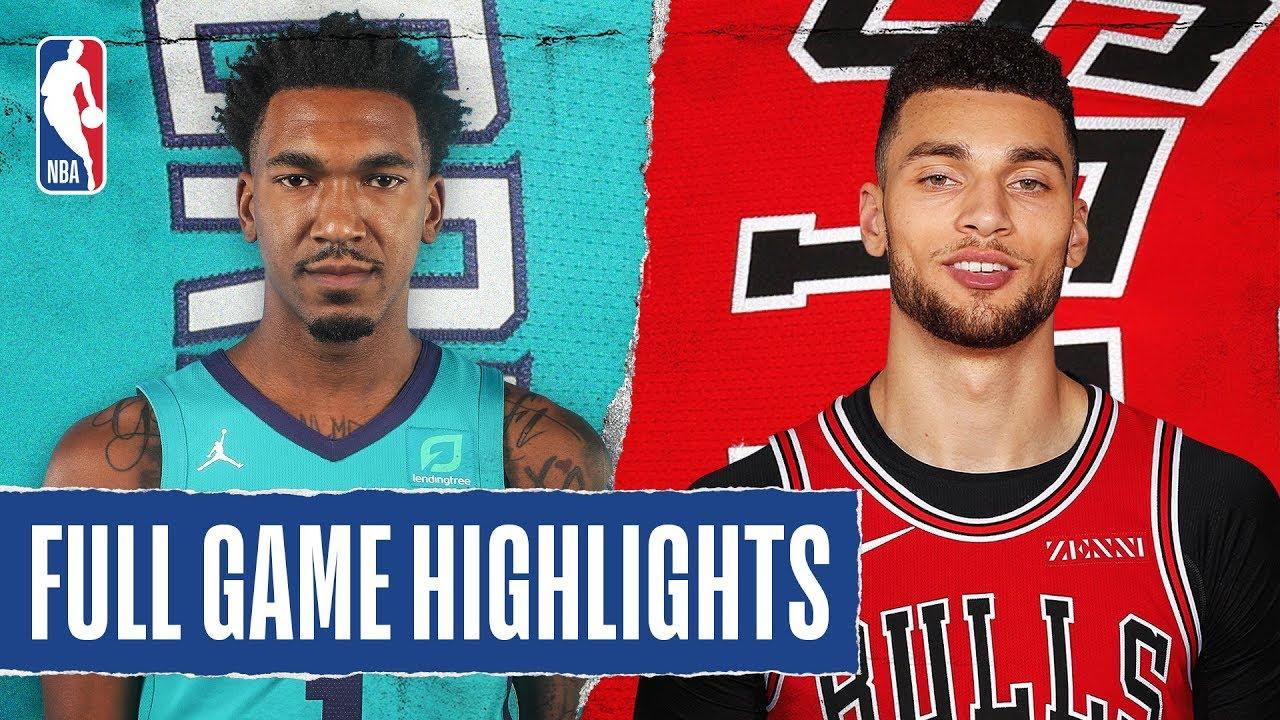 Charlotte Hornets vs Chicago Bulls [Thu, Feb 20, 2020]