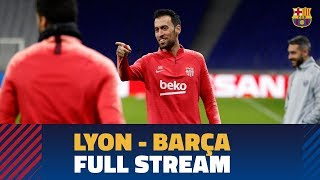 LYON 0-0 BARÇA   Full Press Conference And Training Session