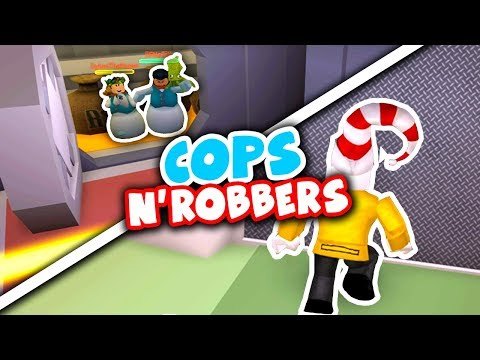 JAILBREAK COPS AND ROBBERS with Ant (Roblox)