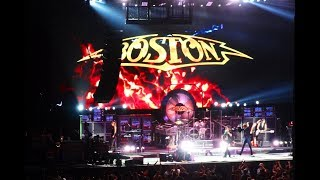 Boston performing Were Ready on 6 30 17 at Starplex in Dallas, Texas.