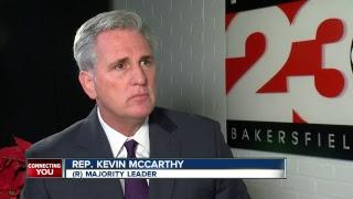 Congressman Kevin McCarthy talks GOP Tax Bill and Future of Republican Party