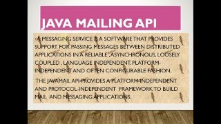 Java Mail API send Email in Java