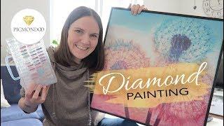 DIAMOND PAINTING Von Picmondoo • DIY Trend 2019 • Sabrina Andexer