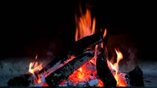 Cozy Crackling Fire – 9 Hour HD Virtual Fireplace – Sleep Sound, Ambience, Romance