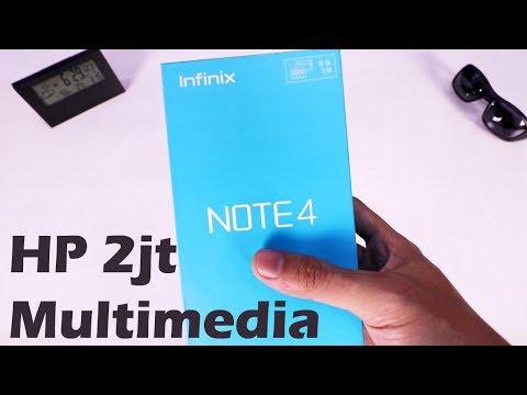 infinix NOTE 4 : HP 2jt buat multimedia Unboxing++ Indonesia