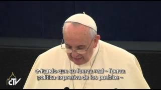 """El Papa defensa l'home com a """"persona"""" i no """"subjecte econòmic"""""""