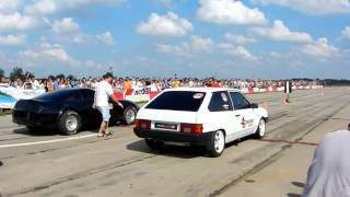 Toyota supra vs Vaz 2108 драг