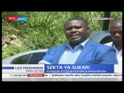 Sekta ya Sukari: Kilimo cha miwa maeneo Magharibi