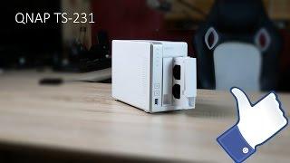 Unboxing und Kurzübersicht zum Qnap TS-231 NAS Festplattensystem (german)