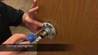 Falcon K Series Lock Installation