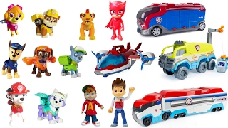 Colors for Children Video -  Paw Patrol Pups Match to Paw Patroller Vehicles