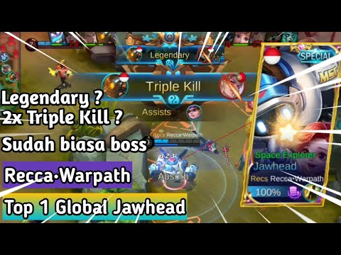 Recca•Warpath Top 1 Global Jawhead Menggila, Build&Gameplay | Amazing Skill