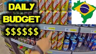 Daily Travel Budget $$$ in BRAZIL - WHAT YOU NEED TO KNOW