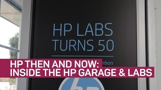 HP then and now: Inside the HP garage and HP Labs