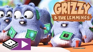 Grizzly i lemingi | Nowoczesna technologia | Boomerang
