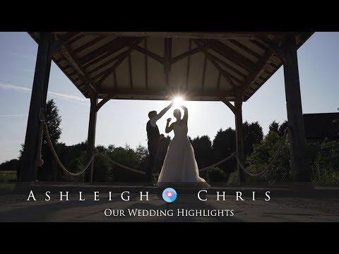Ashleigh & Chris Wedding Highlights Film at Brookfield Barn - Chris Spice Films
