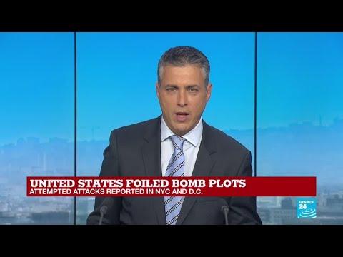 US foiled bomb plots: