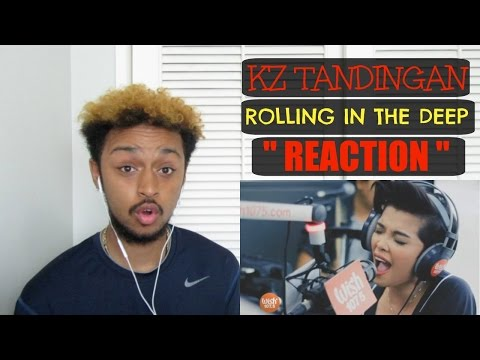 "THIS IS INSANE!! | KZ TANDINGAN ""ROLLING IN THE DEEP"" (WISH 107.5)  REACTION"