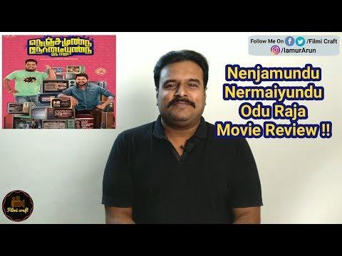Nenjamundu Nermaiyundu Odu Raja review | NNOR Review by Filmi craft | Rio Raj | Karthik Venugopalan