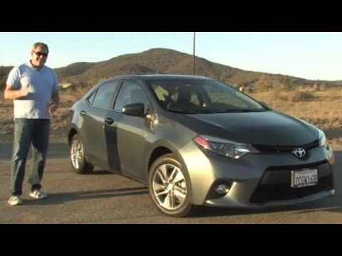 2014 Toyota Corolla LE ECO Test Drive Video Review