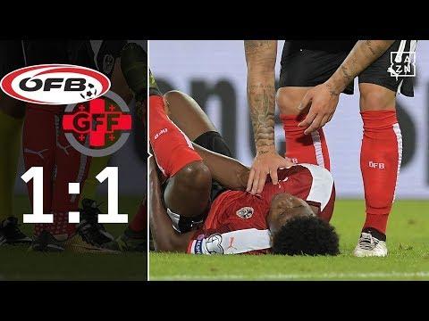 Dreifacher Rückschlag für Österreich: Österreich - Georgien 1:1 | Highlights | WM-Quali | DAZN