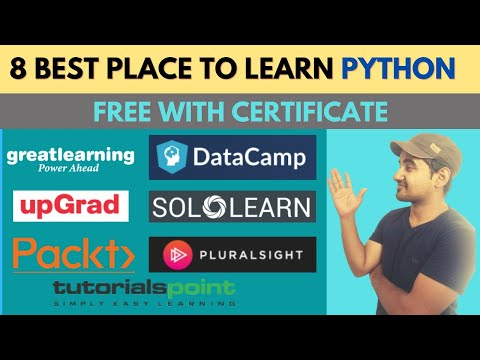 Top 8 Platform Offers Free Python Certification Course | Learn Python For Beginners To Advance Free