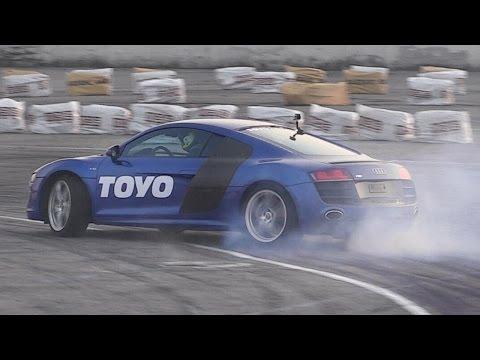 Audi R8 Drift Car With Rwd Hydraulic Handbrake Raced By Valentino