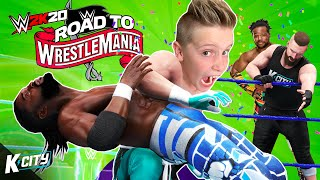 The New Day Challenge! Road to WrestleMania Tower Level 2 | K-CITY GAMING