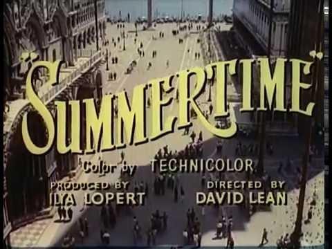Vacances à Venise - Bande annonce 1955 VOST