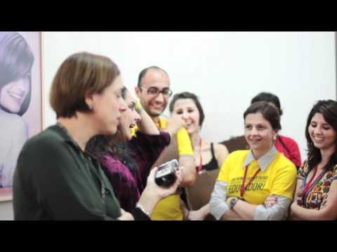 #emnomedosartistas - Lizzi Bougatsos conversa com educadores