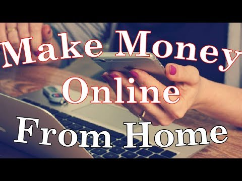 How To Make Money Online From Home – My Favorite Method