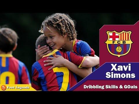 Barcelona Wonderkid Xavi Simons ● Ready to Go ● Crazy Dribbling Skills & Goals || HD