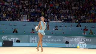 preview picture of video '2013 Rhythmic Worlds - Kiev, Ukraine - Individual Hoop and Ball Finals - We are Gymnastics!'
