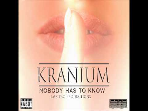 Cover Kranium-Nobody has to know 2015