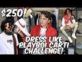 $250 DRESS LIKE PLAYBOI CARTI CHALLENGE!