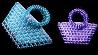 পুতির ব্যাগ/ How to make beaded bag/ putir bag/Shamima Muhib/ beaded purse/ motika clutch