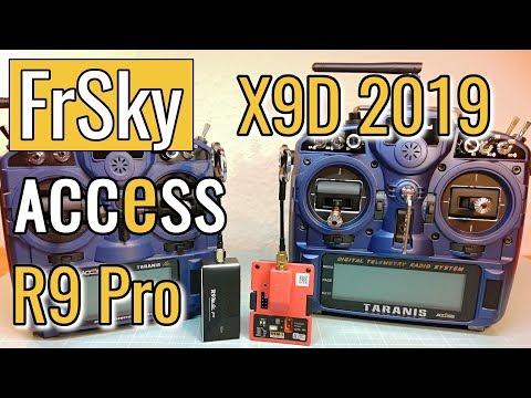 New FrSky X9D+ SE 2019 - X9 Lite Pro and R9M Lite Pro First Look