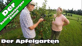 Obstgarten Rosenweide Äpfel