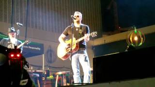 Eric Church - Livin' Part of Life (7/30/15) Nashville, TN