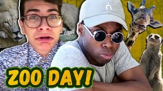 A PUN DAY AT THE ZOO (Squad Vlogs - Field Trip)