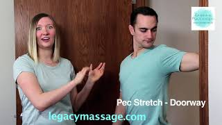 Pec Stretch- Doorway