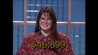 Leslie Shannon Miller   Battle of the Decades: '80s Week   Jeopardy!