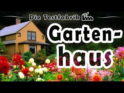 🏡 Gartenhaus Test – 🏆 Top 3 Gartenhaus im Test