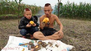Khoai Lang Nướng Kiểu Tam Mao -Đi Làm Đồng Phát Hiện Ruộng Khoai Nhà Hàng Xóm