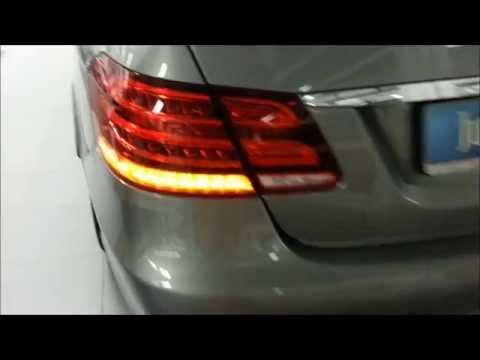 2015 Audi A7 Matrix-LED Blinker vs 2014 MB E-Klasse LED Blinker