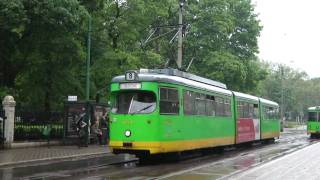 preview picture of video 'POZNAN TRAMS MAY 2010'