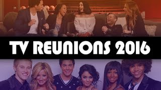 13 TV & Movie Cast Reunions You Might've Missed In 2016