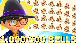 Make $1,000,000 Bells With This Super Easy Guide In Animal Crossing New Horizons