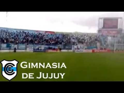 """""""La hinchada de Gimnasia y Esgrima de Jujuy"""" Barra: La Banda de la Flaca • Club: Gimnasia y Esgrima Jujuy"""